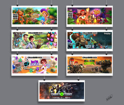 Most recent games that I worked with