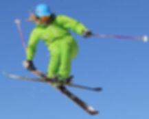 Freestyle ski instructor Morzine Avoriaz