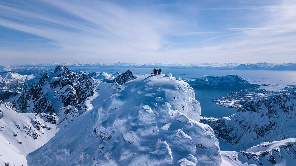Geitgaljetind, Lofoten, Norway