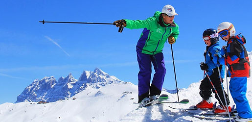 British Ski School Instructor lessons for children