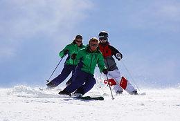 kids ski lessons in english British Ski School