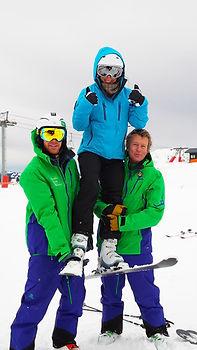 British Ski School Private lessons in English