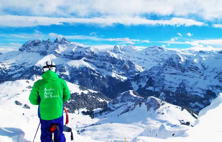 Portes du Soleil Ski guided tour