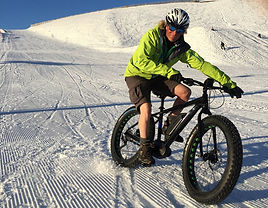 E Fat Bike tors Avoriaz Morzine