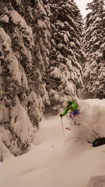 Off Piste Skiing Ski Lessons Avoriaz