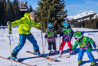 British Ski School Children's lessons