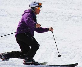 Telemark ski lessons morzine avoriaz