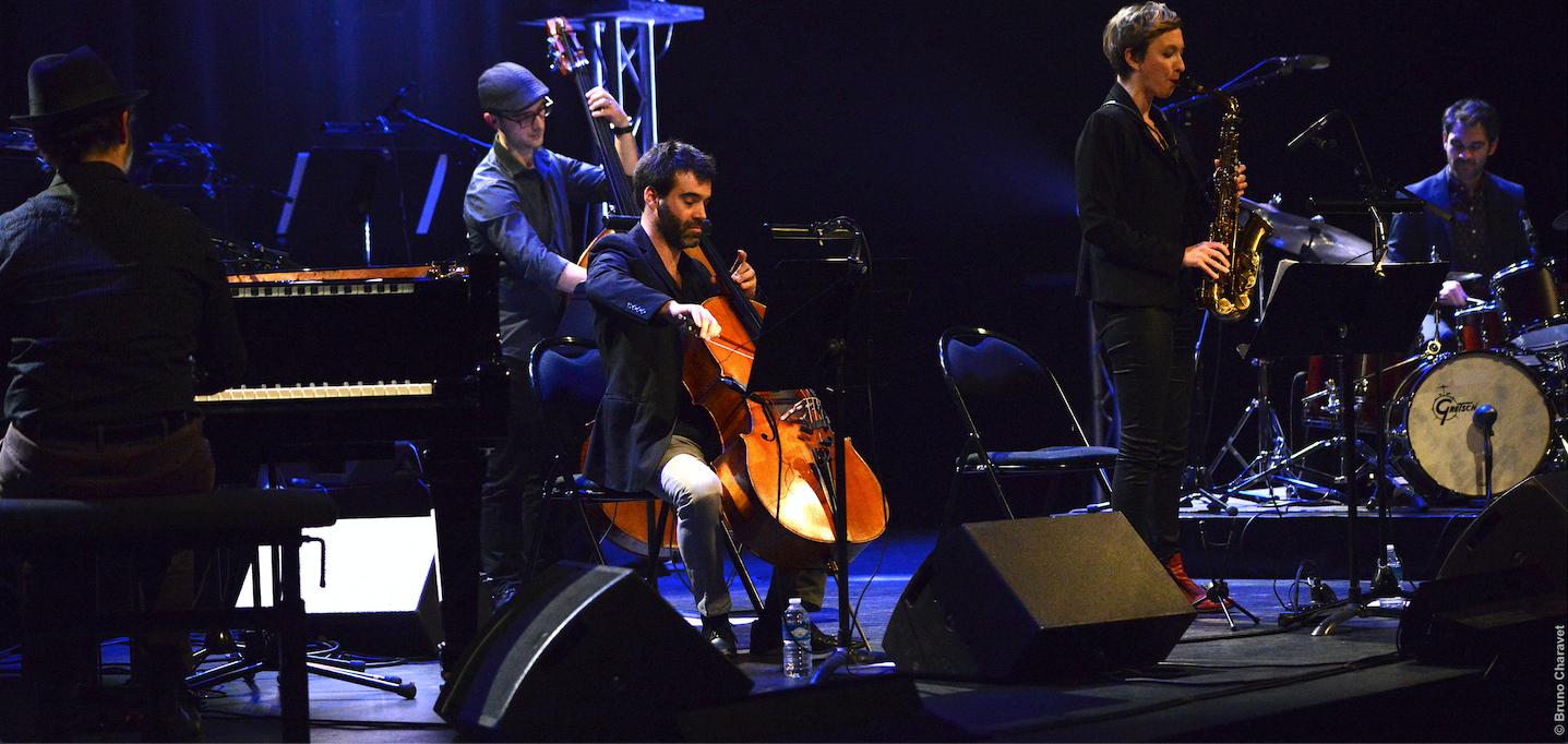 Vincent Touchard - quintet au Prisme - 26/01/2019