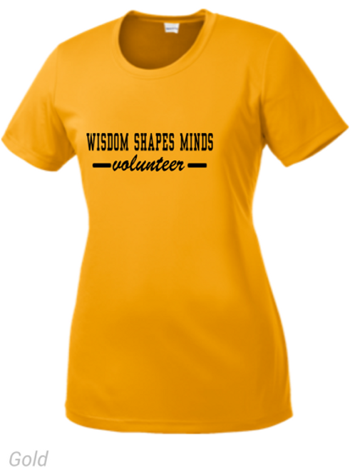Wisdom Shapes Minds Tee (Gold)