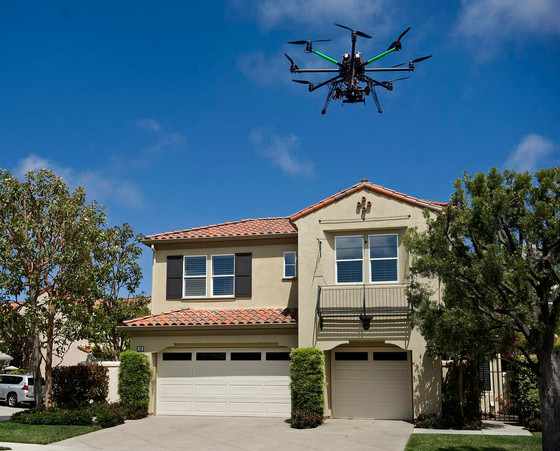 Real estate drone use on the rise.
