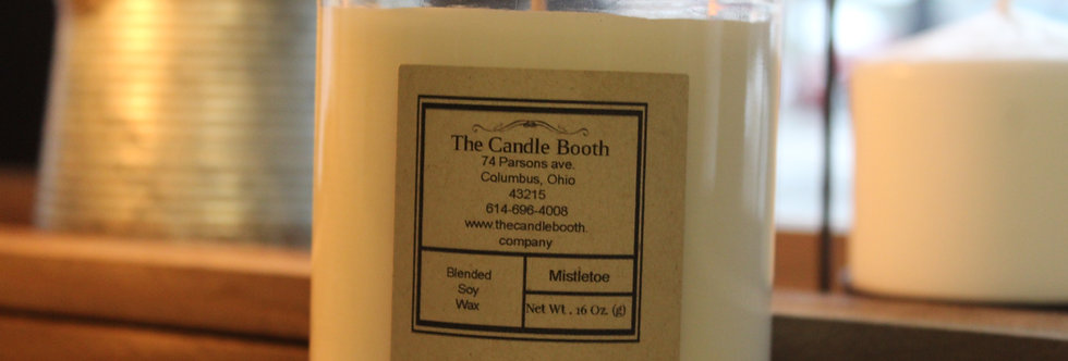 16 oz. Classic Candle with lid.