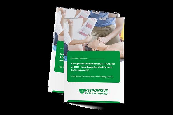 Emergency Paediatric First Aid – FAA Lev