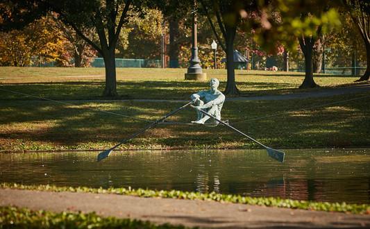 Jerzy Kędziora, Rower, balancing sculpture