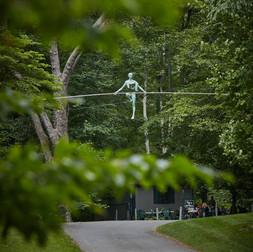 Jerzy Kędziora, Open Space, balancing sculpture