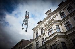 Jerzy Kędziora, Na głęboką wodę, rzeźba balansująca