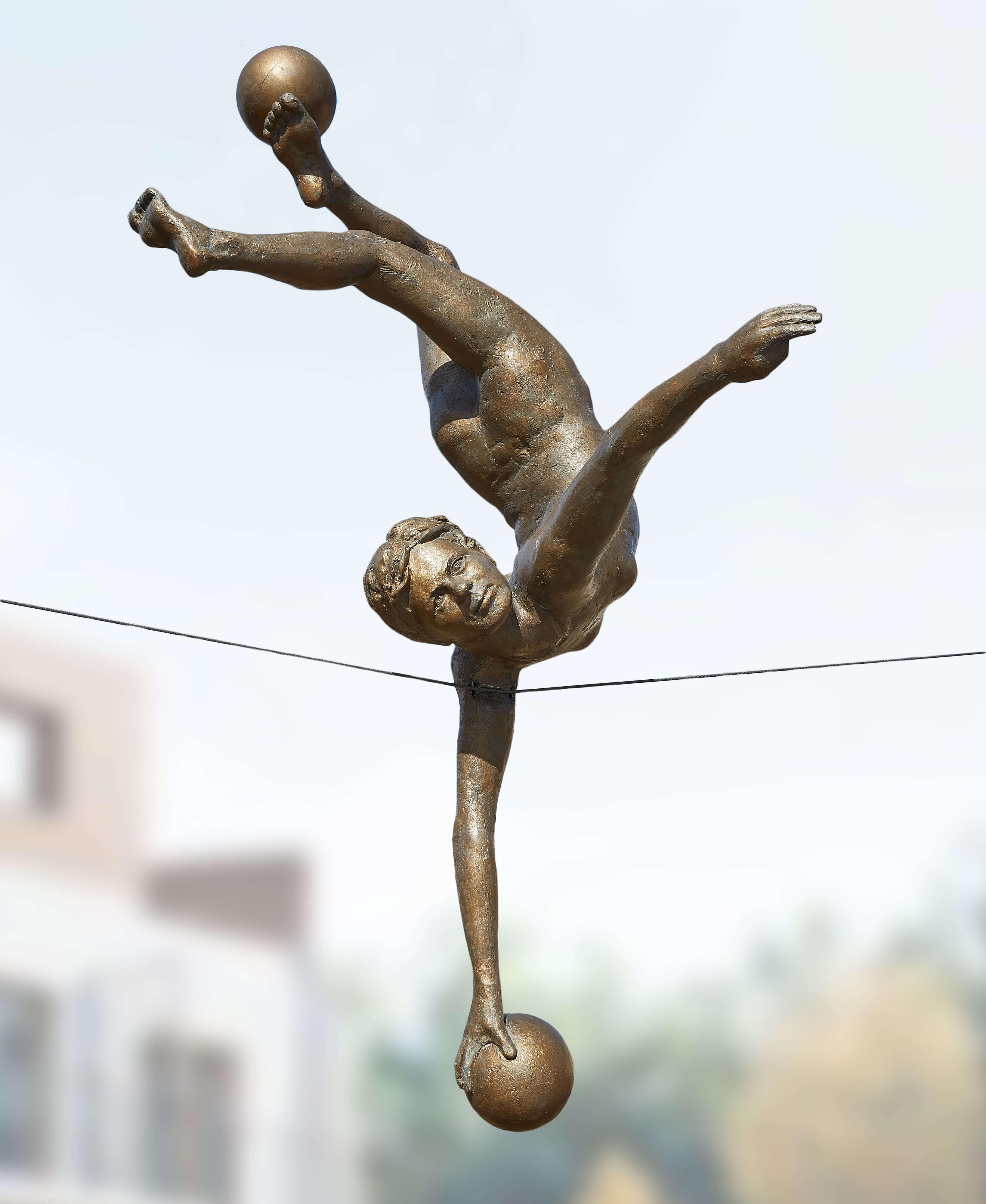 7. Gimnastyczka z piłkami