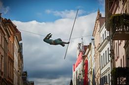 Jerzy Kędziora, Zielony gimnastyk, rzeźba balansująca