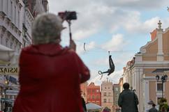 Jerzy Kędziora, Zerwane kółko, rzeźba balansująca