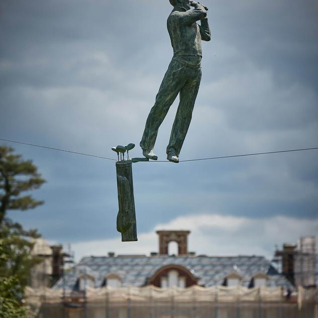Jerzy Kędziora, Golfer, balancing sculpture