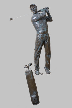39. Golfista / A Golfer