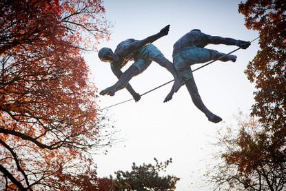 Jerzy Kędziora, Duo, rzeźba balansująca