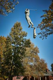Jerzy Kędziora, Golfista, rzeźba balansująca