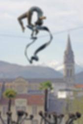 Jerzy Kędziora, A Gimnast with Sash - the exhibition in Lourdes