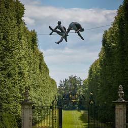 Jerzy Kędziora, Duo, balancing sculpture
