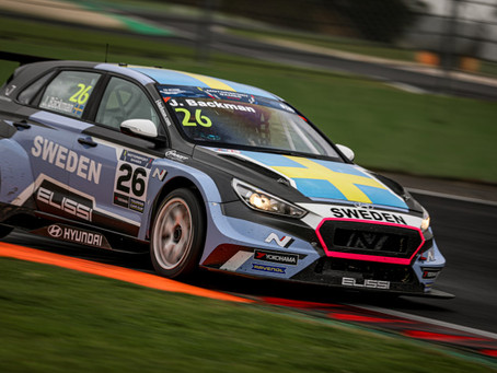 Jessica Bäckman scores double P7 in Motorsport Games TCC for Sweden