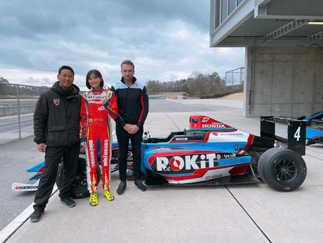 Juju Noda joins F4 US with JHDD and ROKiT