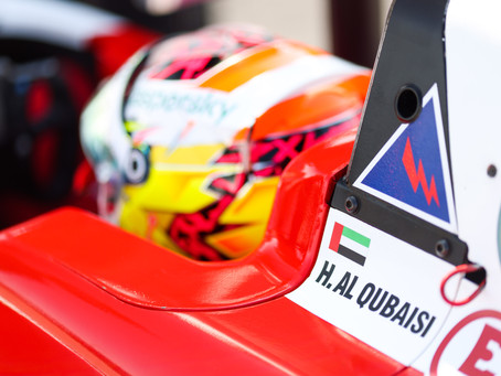 Points for Hamda Al Qubaisi in ADAC Formula 4 debut