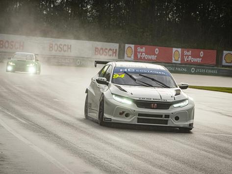 Rainy race day for Louise Frost at Jyllandsringen in TCR Denmark
