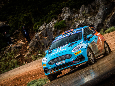 Tough weekend for Molly Taylor at Rally Acropolis