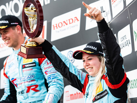 Michelle Halder is Junior Champ with P12 At Sachsenring Race 2