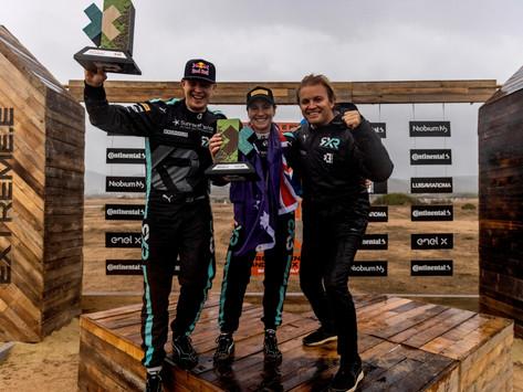 Extreme E: Rosberg X Racing wins Island X Prix