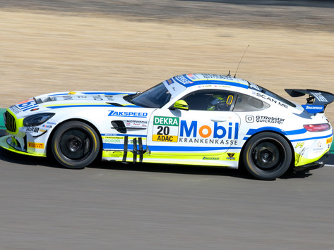 Unlucky first race for Jilková and  Froß in ADAC GT4 at Sachsenring