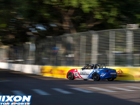 Loni Unser & Savanna Little top their best results in Mazda MX5-Cup at St. Pete