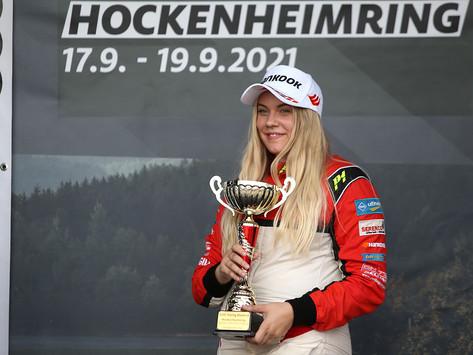 Two wins in Junior class for Vivien Schöllhorn in Audi R8 Cup at Hockenheimring