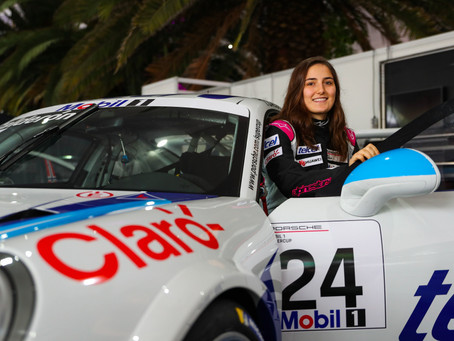 Tatiana Calderon debuted in Porsche Supercup
