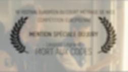 Mention Spéciale du Jury UFCTC 2019 - Mort aux codes