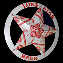 Lone Star Beer Tacker