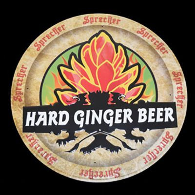 Hard Ginger Beer Tacker