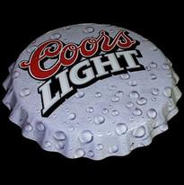 Coors Light Bottle Cap Tacker