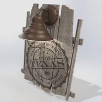 Texas Mixed Media