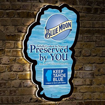 Blue Moon Illuminated