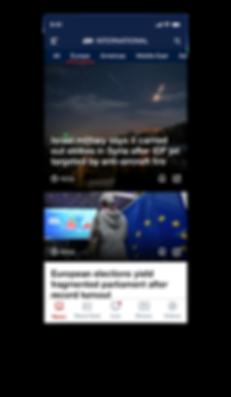NEWS --INTERNATIONAL -- Europe screen.pn