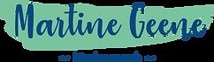 Logo Martine Geene transparante achtergr