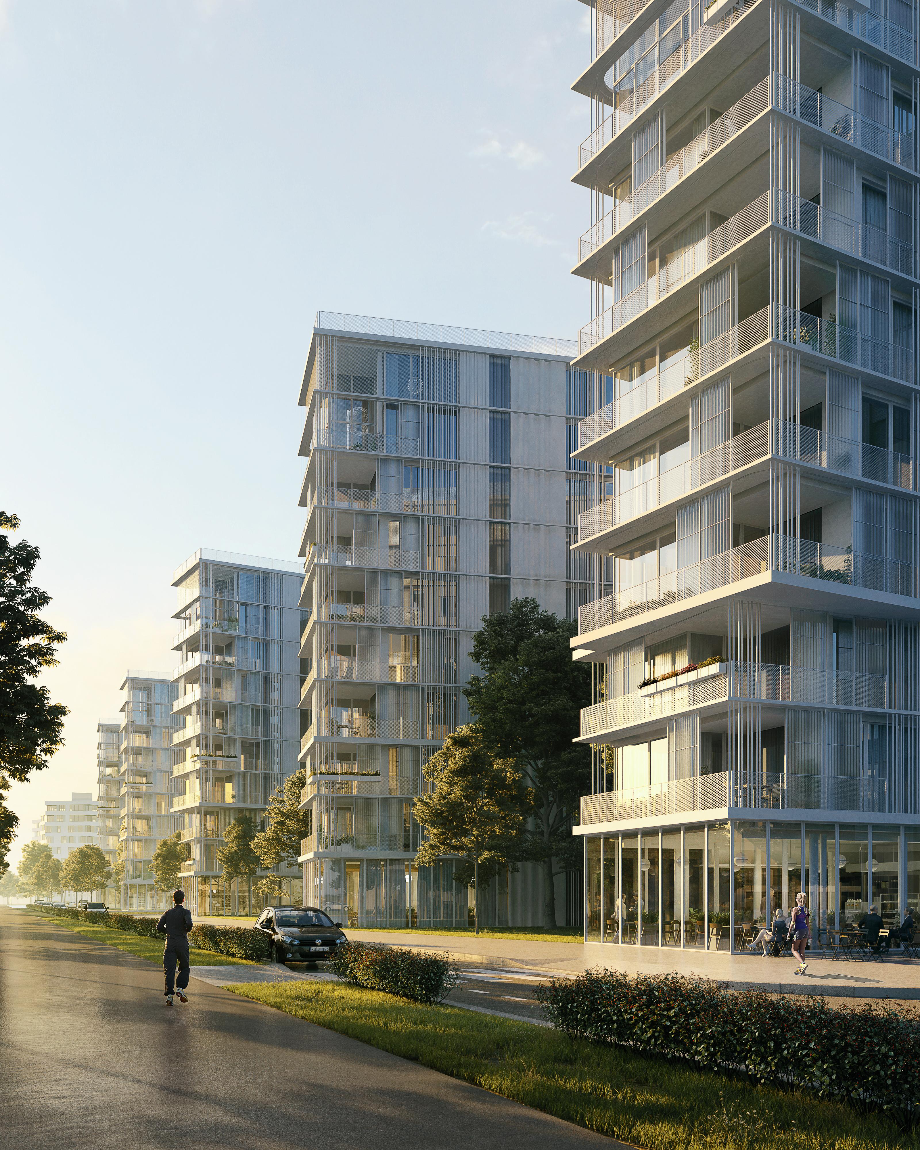 visualization render image housing