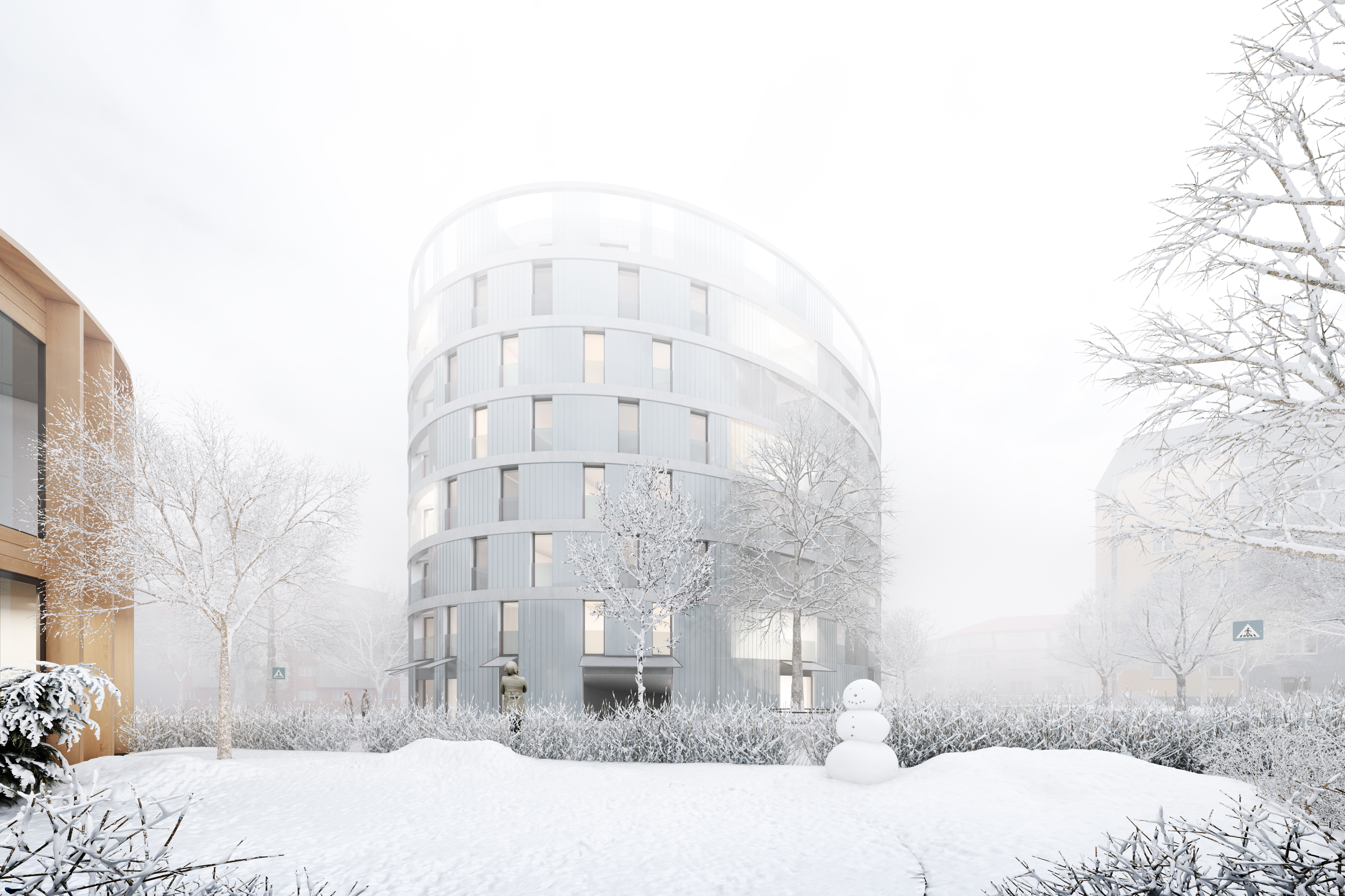 visualization render image winter