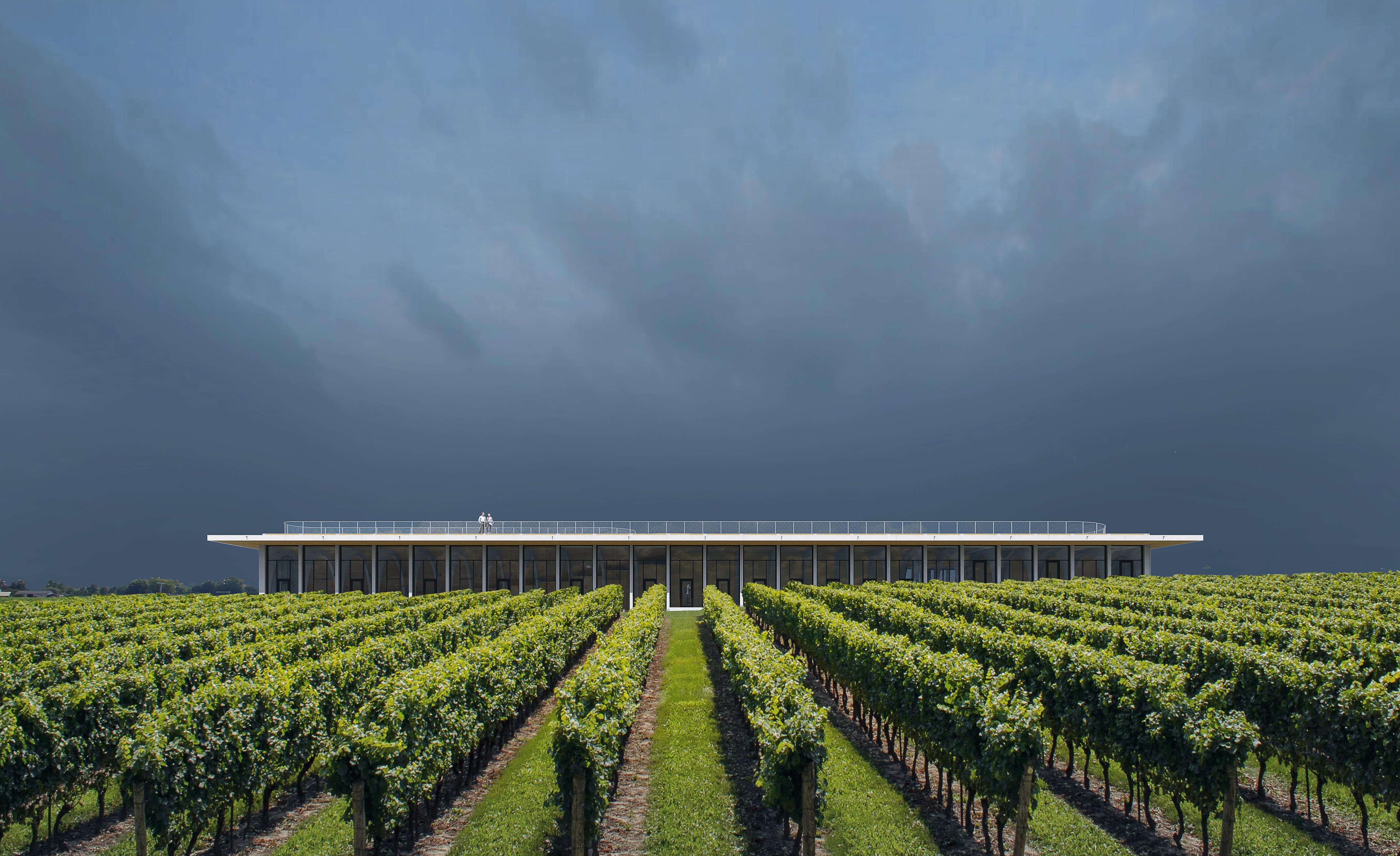 visualization render image winery